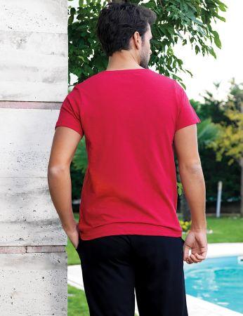Şahinler - Şahinler Men Capri Set Red MEP24223-1 (1)