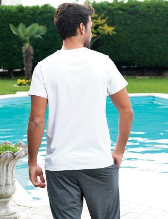 Şahinler - Şahinler Men Capri Set White MEP24201-1 (1)