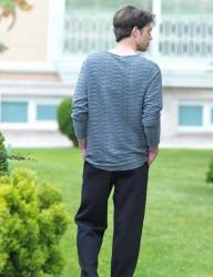 Şahinler - Şahinler Человек Пижама MEP23207-2 (1)