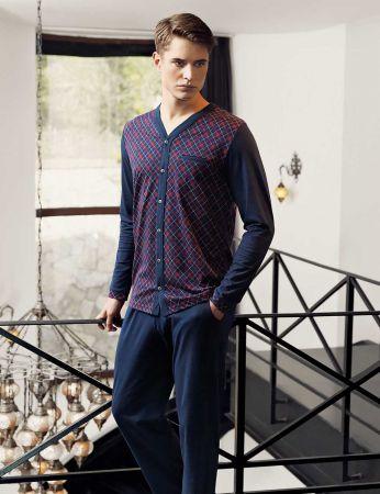 Şahinler - Sahinler Men Pajama Set MEP24506-1