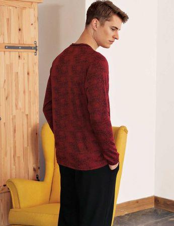 Sahinler Men Pajama Set MEP24513-1
