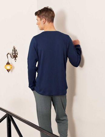 Şahinler - Sahinler Men Pajama Set MEP24517-1 (1)