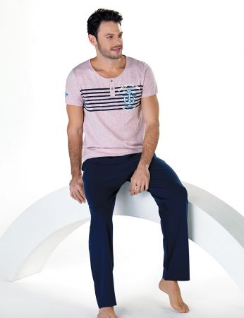 Şahinler - Sahinler Men Pajama Set MEP24710-2