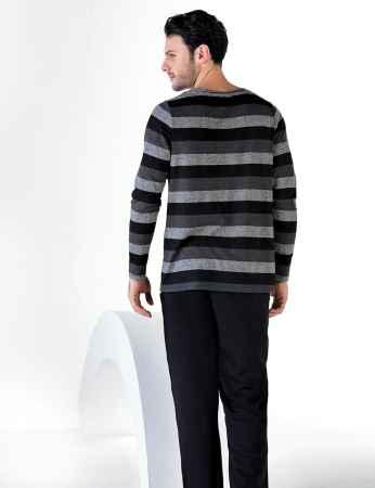Sahinler Men Pajama Set MEP24712-1 - Thumbnail