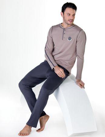 Şahinler - Sahinler Men Pajama Set MEP24713-2