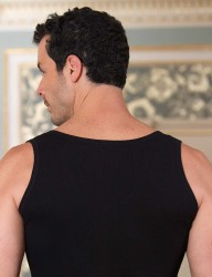 Şahinler - Sahinler Mieder mit breiten Trägern schwarz ME095 (1)
