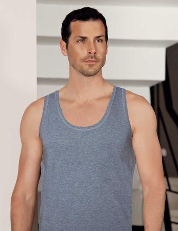 Şahinler - Sahinler Modal Men Singlet Grey ME132