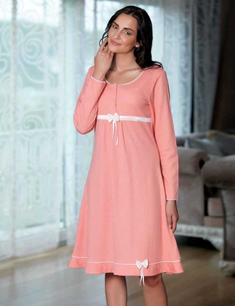 Şahinler - Sahinler Negligee and Nightgown Set (Suprise Gift) MBP21625-1 (1)