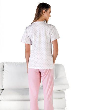 Şahinler - Şahinler Önden Düğmeli Kadın Pijama MBP24601-1 (1)