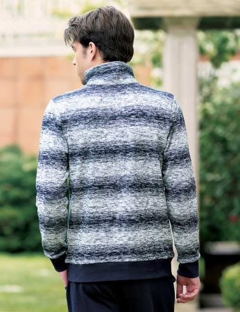 Şahinler - Sahinler Pattern Men Pajama Set Dark Blue MEP23205-1 (1)