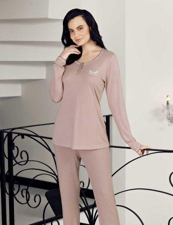 Şahinler - Şahinler Puantiyeli Bayan Pijama Takımı MBP24402-1