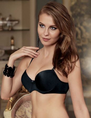 Şahinler - Sahinler Push-up Underwire Bra Black M9625