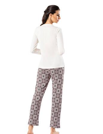 Şahinler Sabahlıklı Bayan Pijama Takımı MBP24406-1