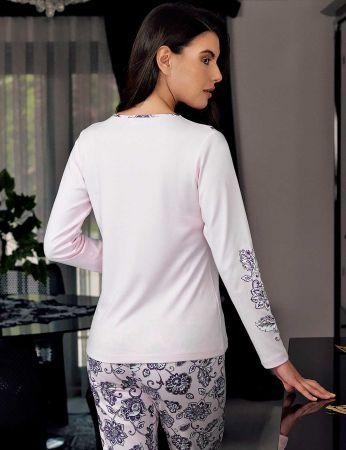 Şahinler - Şahinler Schlafanzug Set für Damen MBP23709-1 (1)
