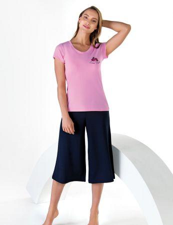Şahinler - Sahinler Schlafanzug Set für Damen MBP24608-1