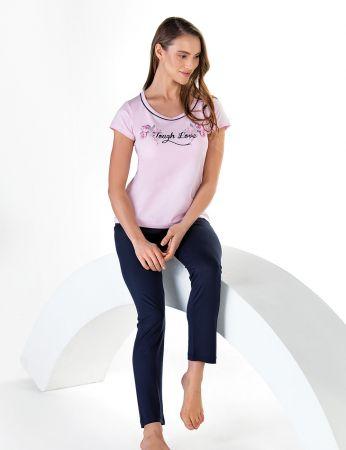 Şahinler - Sahinler Schlafanzug Set für Damen MBP24609-1
