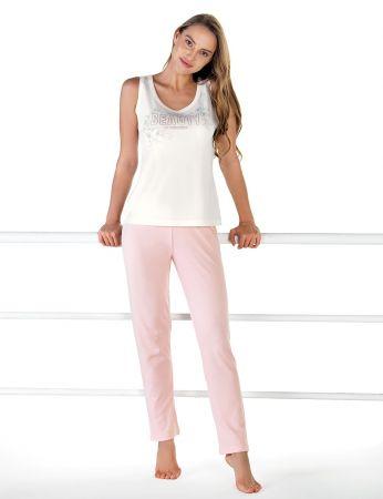 Şahinler - Sahinler Schlafanzug Set für Damen MBP24610-1