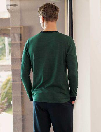 Şahinler - Sahinler Schlafanzug Set für Herren MEP24509-1 (1)