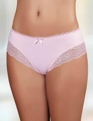 Şahinler - Sahinler Slip Beinausschnitt mit breiter Spitze rosa MB3003