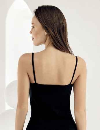 Şahinler - Sahinler Strap Lace Singlet Black MB1014 (1)