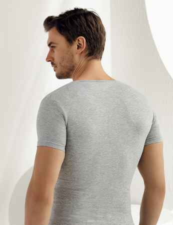 Şahinler - Sahinler Supreme Lycra Singlet Short Sleeve Grey ME088 (1)