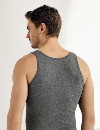 Şahinler - Sahinler Supreme Lycra Unterhemd mit breiten Trägern ME067 (1)