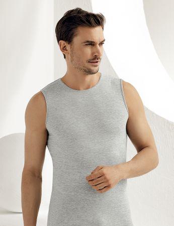 Sahinler Supreme Lycra Unterhemd ohne Ärmel grau ME077