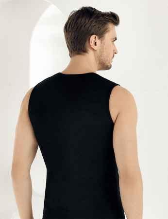 Şahinler - Sahinler Supreme Lycra Unterhemd ohne Ärmel schwarz ME077 (1)