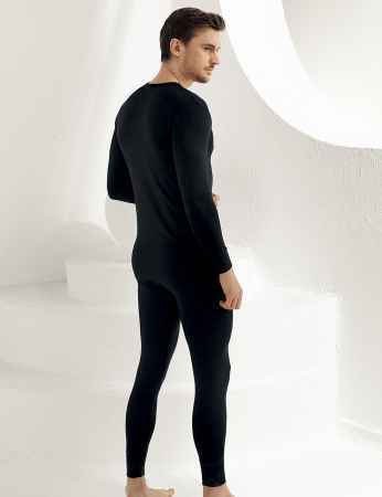 Şahinler - Sahinler Thermal-Unterhemd für Herren lang schwarz ME092 (1)