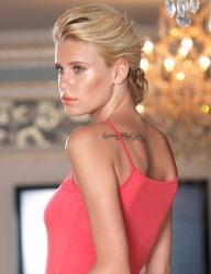 Şahinler - MB2005 طقم احمر رماني دانتيل عند الصدر والكيلوت (1)