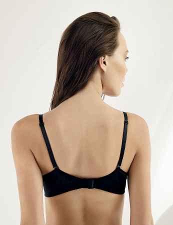 Şahinler - Sahinler Underwire Lace Push-up Bra Black M9050 (1)