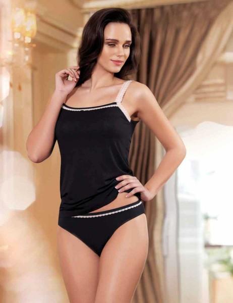 Şahinler - Sahinler Unterhemd und Slip Set schwarz MB2007