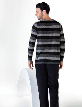 Şahinler - Şahinler Uzun Kollu Erkek Pijama Takımı MEP24712-1 (1)