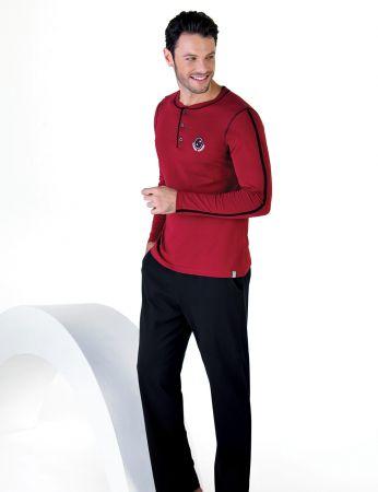 Şahinler - Şahinler Uzun Kollu Erkek Pijama Takımı MEP24713-1