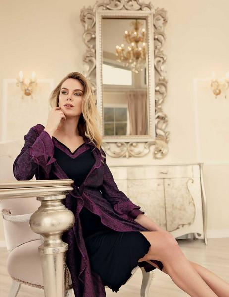 Şahinler - Şahinler Woman Nightgown & Morning gown Set MBP23433-1