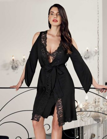 Şahinler - Sahinler Woman Nightgown & Morning Gown Set MBP24413-1