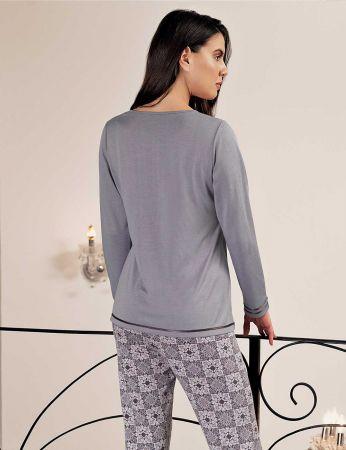 Şahinler - Sahinler Woman Pajama Set MBP24407-1 (1)