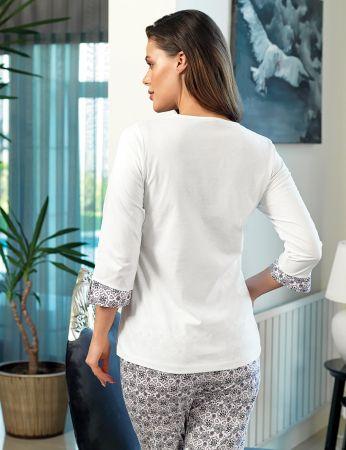 Şahinler - Şahinler Women Button Pajama Set MBP24114-1 (1)