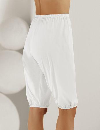 Şahinler - Sahinler Women Cotton Underwear with Cuff White MB002 (1)