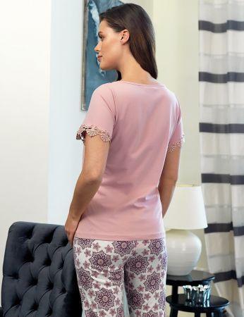 Şahinler - Şahinler Women Lace Pajama Set MBP24112-1 (1)