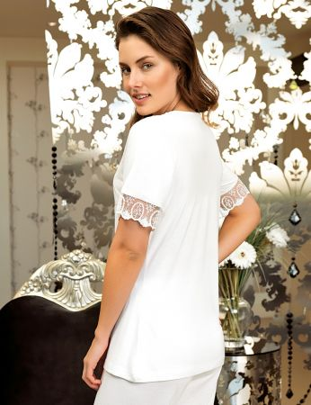 Şahinler - Şahinler Women Lace Pajama Set MBP24117-1 (1)