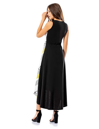 Şahinler - Şahinler Women Long Dress Yellow MBP24039-1 (1)