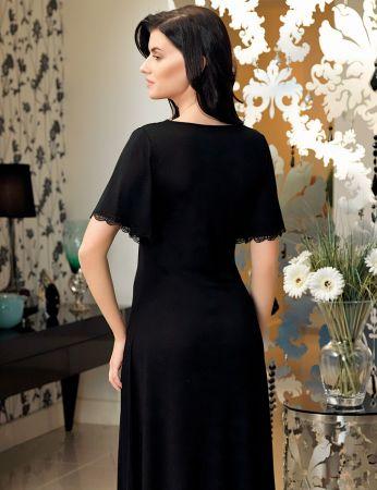 Şahinler - Şahinler Women Nightgown Black MBP24142-1 (1)