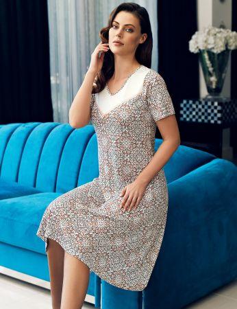 Şahinler - Şahinler Women Nightgown MBP24109-1