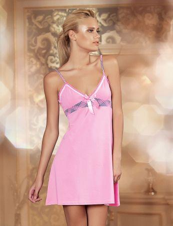 Şahinler - Şahinler Women Nightgown Pink MB474