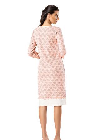 Şahinler - Şahinler Women Nightgown Pink MBP23717-1 (1)