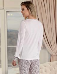 Şahinler Женская пижама MBP23424-1 - Thumbnail