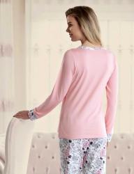 Sahinler Женская пижама MBP23430-1 - Thumbnail
