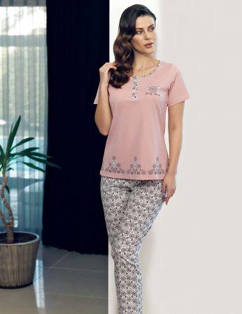 Şahinler - Şahinler Women Pajama Set MBP24113-1