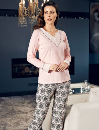 Şahinler - Şahinler Women Pajama Set MBP24136-1